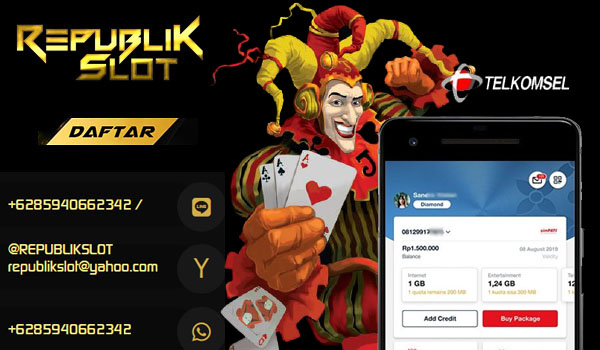 Slot Online Pulsa Tanpa Potongan